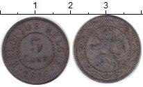 Изображение Монеты Бельгия 5 сентим 1916 Цинк VF