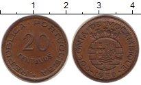 Изображение Монеты Мозамбик 20 сентаво 1950 Бронза XF
