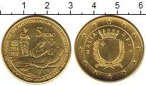 Изображение Монеты Мальта 5 евро 2014 Латунь UNC 100 - летие WWI.  Мы