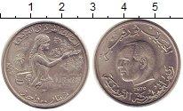 Изображение Монеты Тунис 1 динар 1976 Медно-никель UNC-