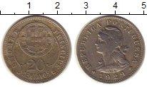 Изображение Монеты Сан-Томе и Принсипи 20 сентаво 1929 Медно-никель XF-