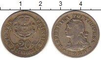 Монета Сан-Томе и Принсипи 20 сентаво Медно-никель 1929 XF- фото
