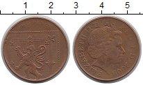 Изображение Монеты Великобритания 2 пенса 2009 Бронза XF