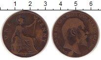 Изображение Монеты Великобритания 1 пенни 1908 Медь VF
