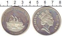 Изображение Монеты Фиджи 10 долларов 1989 Серебро Proof-