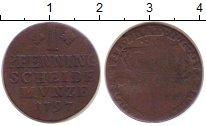 Изображение Монеты Брауншвайг-Вольфенбюттель 1 пфенниг 1797 Медь VF- Карл Вильгельм Ферди