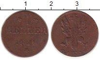 Изображение Монеты Франкфурт 1 хеллер 1821 Медь XF-