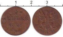 Изображение Монеты Германия Франкфурт 1 пфенниг 1821 Медь XF