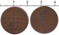 Изображение Монеты Брауншвайг-Люнебург-Каленберг-Ганновер 1 пфенниг 1804 Медь VF-