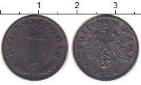 Изображение Монеты Третий Рейх 1 пфенниг 1944 Цинк VF