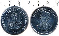 Изображение Монеты Гаити 50 сантимов 1995 Медно-никель UNC-