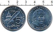 Изображение Монеты Франция 5 франков 1994 Медно-никель UNC-