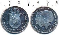 Изображение Монеты Нидерланды 2 1/2 гульдена 1980 Медно-никель XF