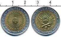 Изображение Монеты Аргентина 1 песо 1995 Биметалл UNC-
