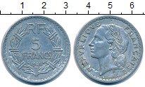 Изображение Монеты Франция 5 франков 1946 Алюминий VF