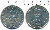 Изображение Монеты Гаити 50 сантимов 1991 Медно-никель XF