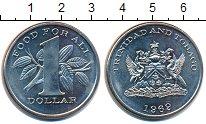 Изображение Монеты Тринидад и Тобаго 1 доллар 1969 Медно-никель UNC-