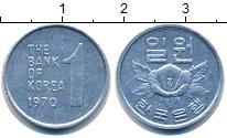 Изображение Монеты Южная Корея Южная Корея 1970 Алюминий XF