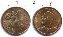Изображение Монеты Гамбия 1 бутут 1971 Бронза UNC- арахис