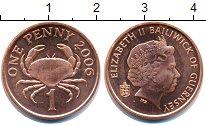 Изображение Монеты Гернси 1 пенни 2006 Бронза UNC-