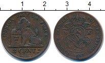 Изображение Монеты Бельгия 2 цента 1857 Медь VF Леопольд I
