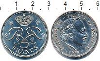 Изображение Монеты Монако 5 франков 1975 Медно-никель UNC-