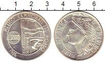Изображение Монеты Сан-Марино 1000 лир 1986 Серебро UNC