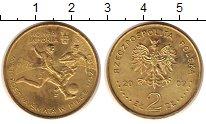 Изображение Монеты Польша 2 злотых 2002 Латунь UNC