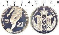 Изображение Монеты Ниуэ 50 долларов 1990 Серебро Proof-