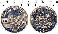 Изображение Монеты Самоа 10 долларов 1992 Серебро Proof- Чемпионат мира по фу