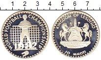 Изображение Монеты Лесото 10 малоти 1982 Серебро Proof-