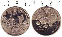 Изображение Монеты Украина 5 гривен 2011 Медно-никель Proof- Евро 2012. УЕФА.
