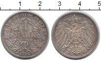 Изображение Монеты Германия 1 марка 1914 Серебро VF