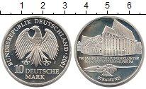 Изображение Монеты ФРГ 10 марок 2001 Серебро Proof-