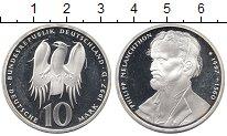 Изображение Монеты Германия 10 марок 1997 Серебро Proof-
