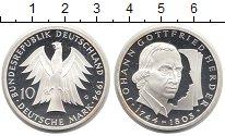 Изображение Монеты Германия 10 марок 1994 Серебро Proof-
