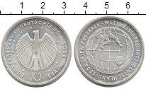 Изображение Монеты Германия 10 евро 2005 Серебро XF Чемпионат мира по фу