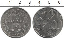Изображение Монеты ГДР 10 марок 1990 Медно-никель UNC