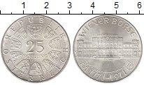 Изображение Монеты Австрия 25 шиллингов 1971 Серебро UNC- 200 - летие  фондово