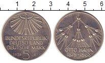 Изображение Монеты ФРГ 5 марок 1979 Медно-никель UNC-