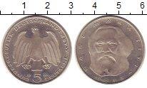 Изображение Монеты ФРГ 5 марок 1983 Медно-никель UNC-