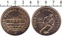 Изображение Монеты Турция 100 лир 1982 Медно-никель UNC-