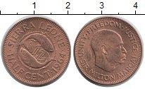 Изображение Мелочь Сьерра-Леоне 1/2 цента 1964 Бронза XF