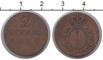 Изображение Монеты Пруссия 2 пфеннига 1814 Медь VF