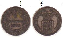 Изображение Монеты Вюртемберг 1 крейцер 1872 Серебро VF Карл I