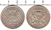 Изображение Монеты Бремен 2 марки 1904 Серебро XF