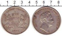 Изображение Монеты Баден 1 талер 1832 Серебро XF