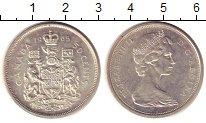 Изображение Монеты Канада 50 центов 1965 Серебро UNC-