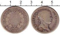 Изображение Монеты Франция 2 франка 1813 Серебро VF