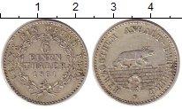 Изображение Монеты Анхальт-Бембург 1/6 талера 1861 Серебро XF